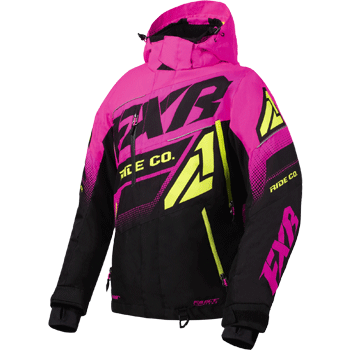FXR Boost FX Womens Jacket Black/Pink/HiVis