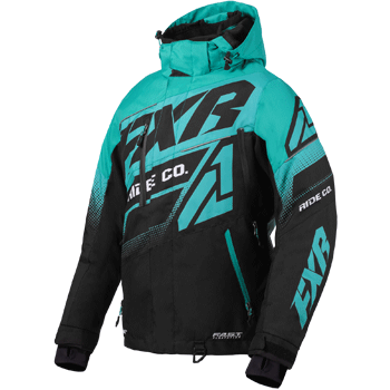 FXR Boost FX Womens Jacket Black/Mint