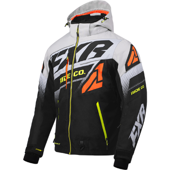 FXR Boost FX Jacket Black/Grey/Org/HiVis