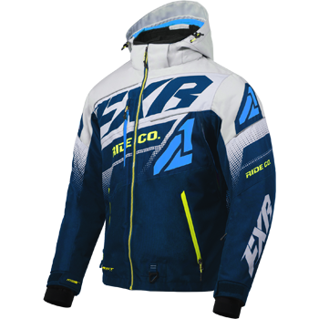 FXR Boost FX Jacket Navy/Grey/Blue/HiVis