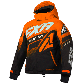 FXR Boost Kids Jacket Orange/Black/White