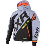 FXR CX Kids Jacket Grey/Orange/HiVis