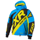 FXR CX Kids Jacket Blue/Black/HiVis
