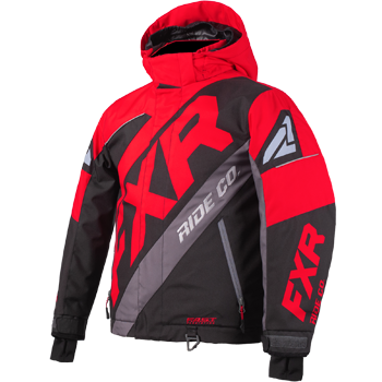 FXR CX Kids Jacket Lava/Black Charcoal