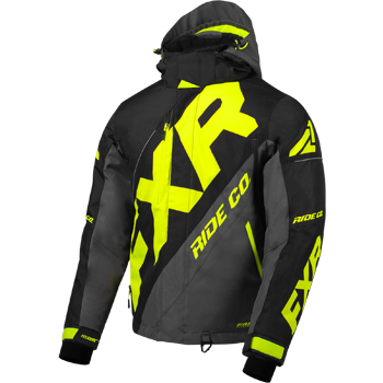 FXR CX Jacket Black/Char/HiVis