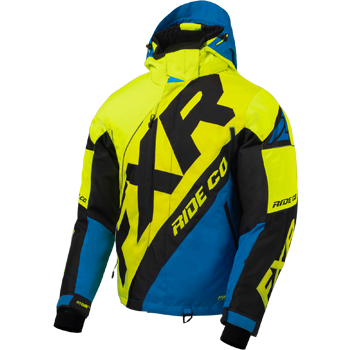 FXR CX Jacket HiVis/Blue/Black