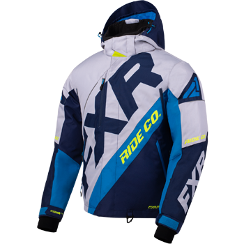 FXR CX Jacket Grey/Navy/HiVis
