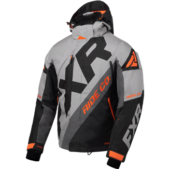 FXR CX Jacket Grey/Black/Char/Orange