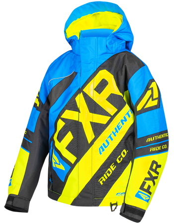 FXR CX Youth Jacket 19 Blue HiVis