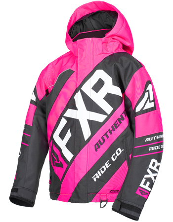 FXR CX Youth Jacket 19 Fuchsia Black