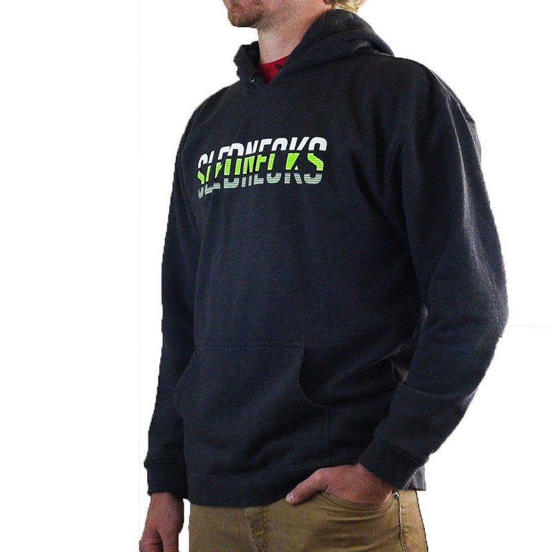 Slednecks Hacked Pullover Hoody Charcoal Grey
