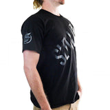 Slednecks Side Split Tee Shirt Black