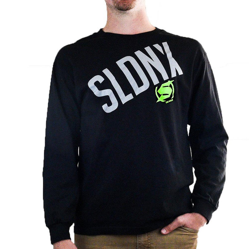 Slednecks Evergreen Long Sleeve T Shirt Black