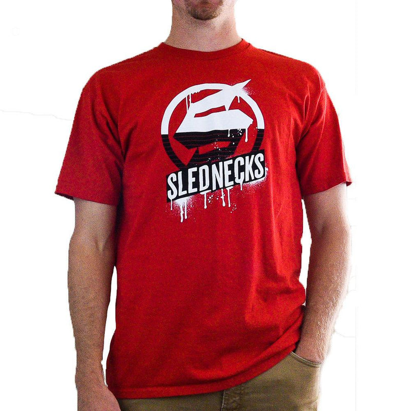 Slednecks Homeland Tee Shirt Red