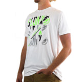 Slednecks Shift Tee Shirt White