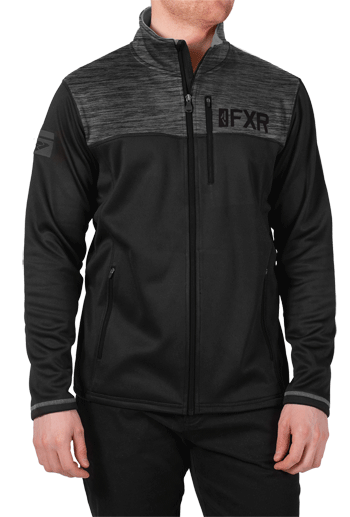 FXR Elevation Tech Zip Fleece Black Ops