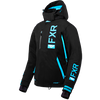 FXR Evo FX Womens Jacket Black/Sky Blue