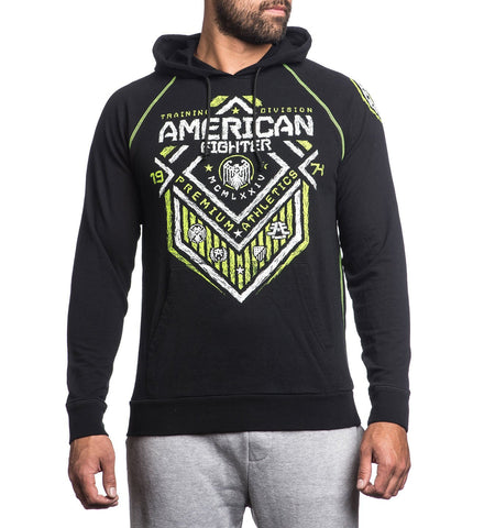 American Fighter North Dakota Sketch Fleece Black
