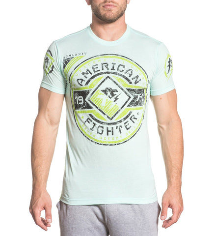 American Fighter Bronx Tee Aqua