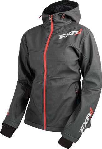 FXR Fresh Womens Softshell Char Tri/Electric