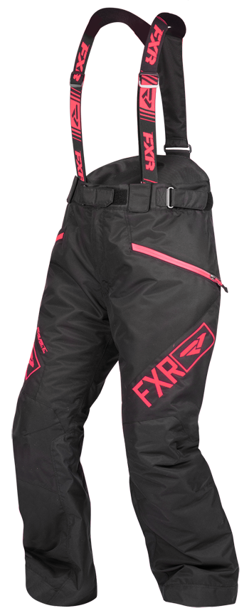 FXR Fresh Pant Womens 2020 Black/Coral