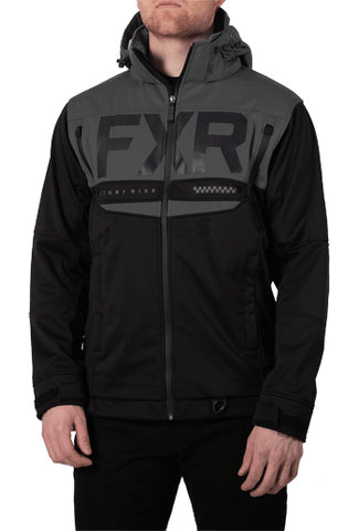 FXR Helium Ride Softshell Black Ops