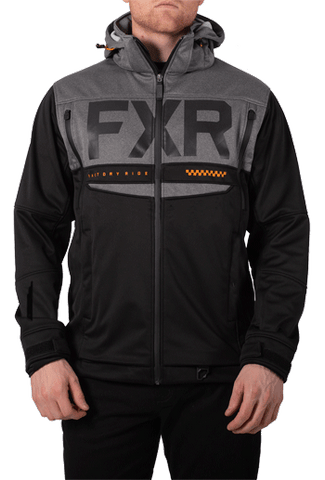 FXR Helium Ride Softshell Black/Orange