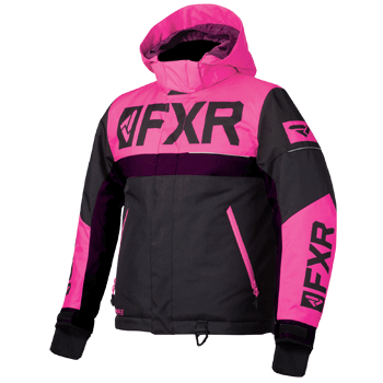 FXR Helium Kids Jacket Black/Pink/Plum