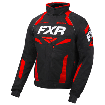 FXR Octane Jacket Black/Red