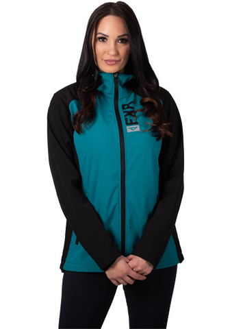 FXR Pulse Softshell Black/Teal