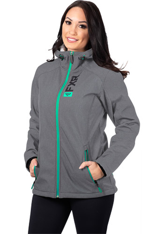 FXR Pulse Softshell Grey/Mint