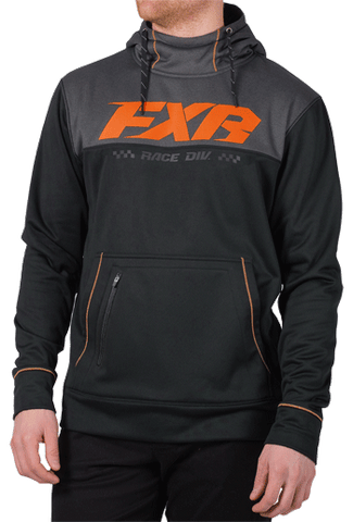 FXR Pursuit Tech Pullover Fleece Black/Orange