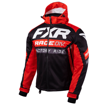 FXR RRX Jacket Black/Red/White