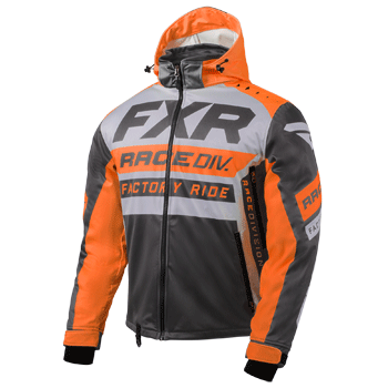 FXR RRX Jacket Grey/Orange/Char