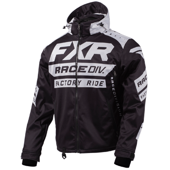 FXR RRX Jacket Black/White