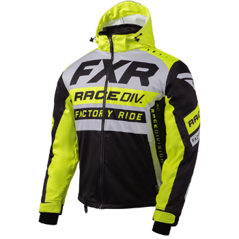 FXR RRX Jacket Grey/HiVis/Black