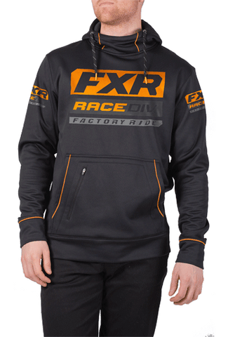 FXR Race Division Tech Pullover Fleece Black/Orange