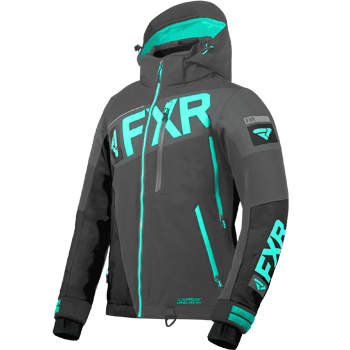 FXR Ranger Jacket Grey Charcoal/Mint