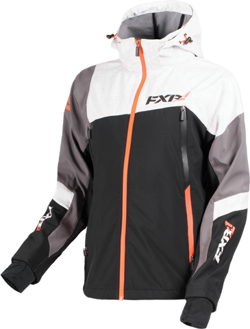 FXR Renegade Softshell Char/White/Orange