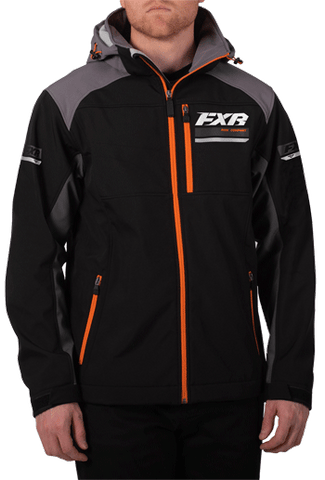 FXR Renegade Softshell Black/Orange