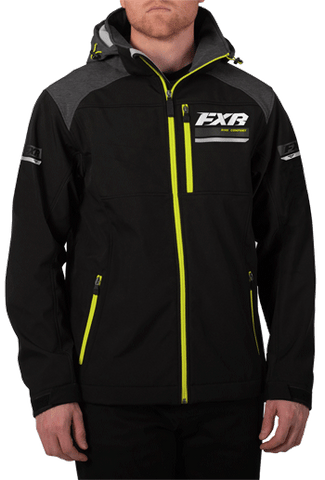 FXR Renegade Softshell Black/HiVis