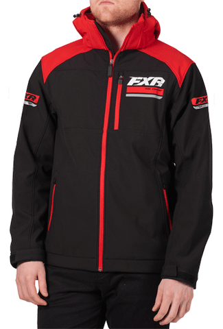 FXR Renegade Softshell Black/Red