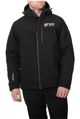 FXR Vertical Pro Insulated Softshell Black