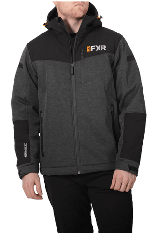 FXR Vertical Pro Insulated Softshell Charcoal/Black