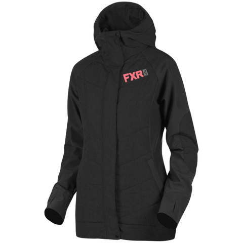 FXR Alloy Womens Jacket Black Coral