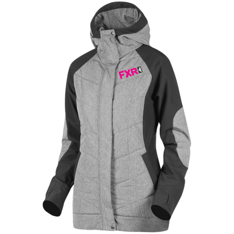 FXR Alloy Womens Jacket Heather Fuchsia