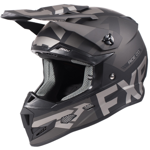 FXR Boost Evo Youth Helmet Black Ops