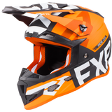 FXR Boost Evo Youth Helmet Black Orange
