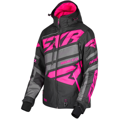 FXR Boost X Womens 2019 Jacket Black Fuchsia