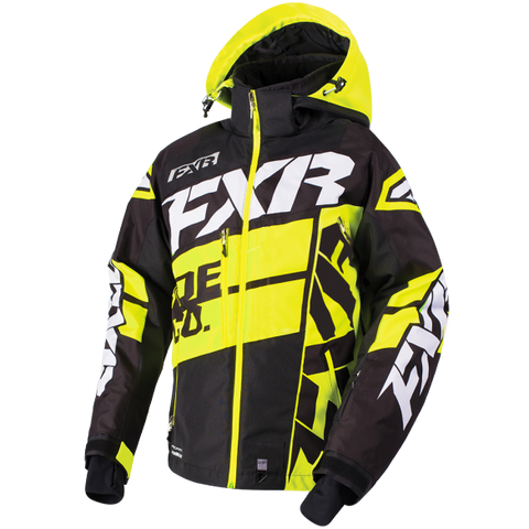 FXR Boost X Mens Jacket Black/HiVis